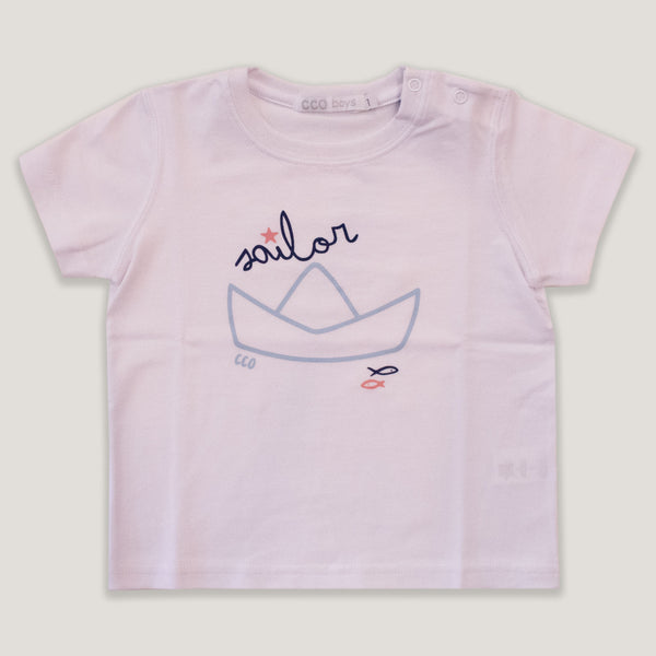 Remera sailor Blanca