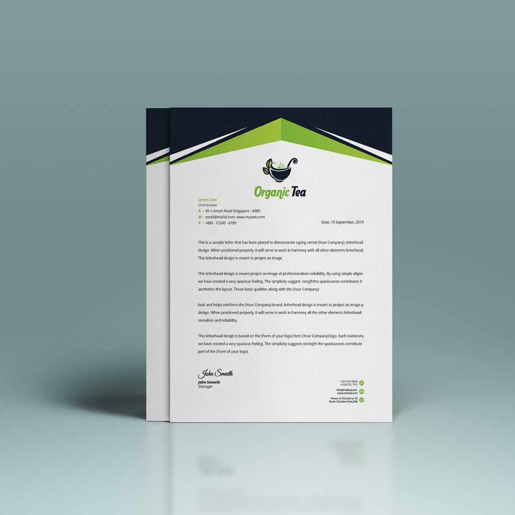 Double sided Letterhead Printing