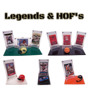 LEGENDS & HOF'S DISPLAYS