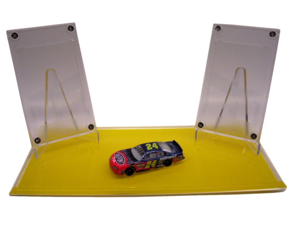 NASCAR NO CARD DOUBLE DISPLAYS