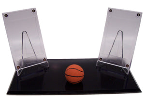 BASKETBALL NO CARD DOUBLE DISPLAYS