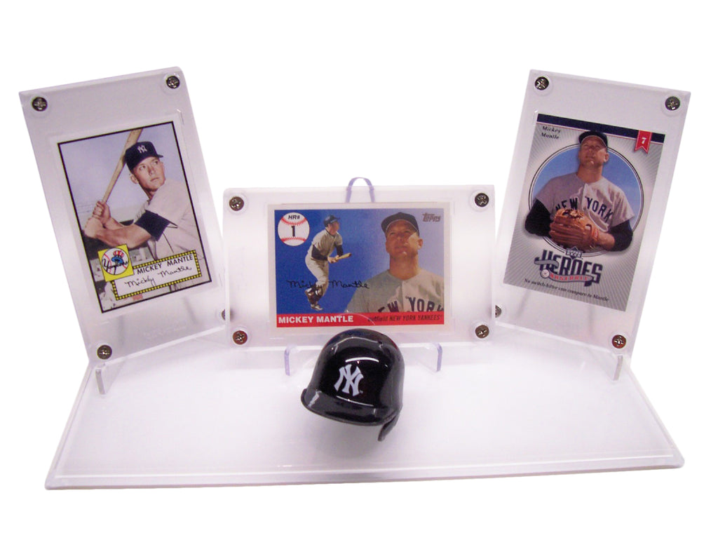 MLB LEGEND & HOF'S TRIPLE DISPLAYS