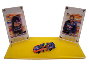 NASCAR LEGEND & HOF'S DOUBLE DISPLAYS