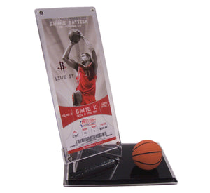 BASKETBALL TICKET DISPLAYS