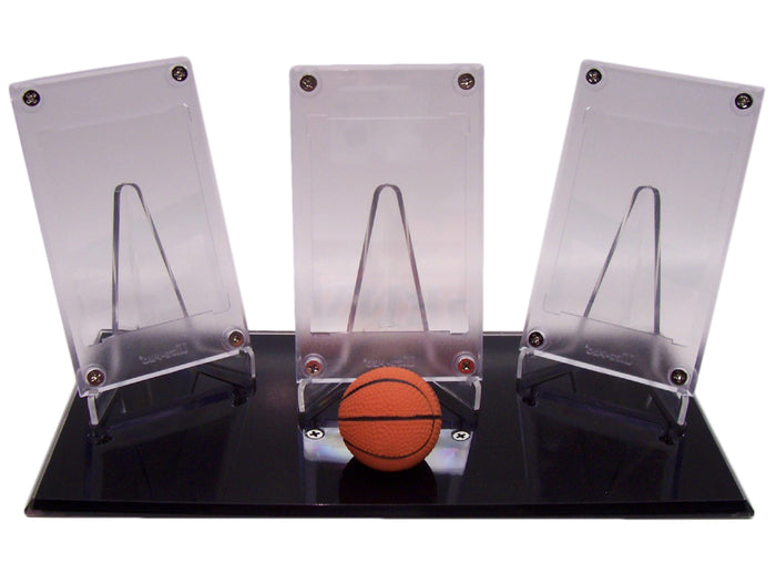 BASKETBALL NO CARD TRIPLE DISPLAYS