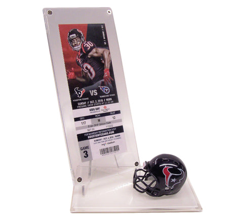 SPORT TICKET DISPLAYS