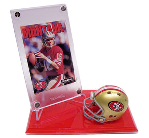 NFL LEGEND & HOF'S SINGLE DISPLAYS