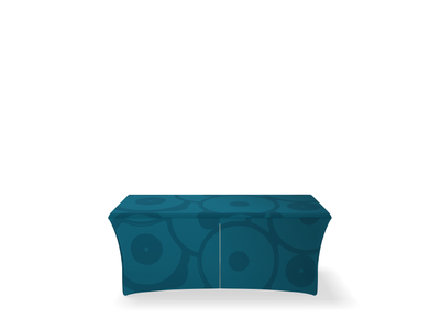 WaveLine Stretch Table Cover