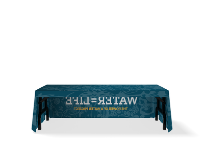 WaveLine Free Hanging Table Cover
