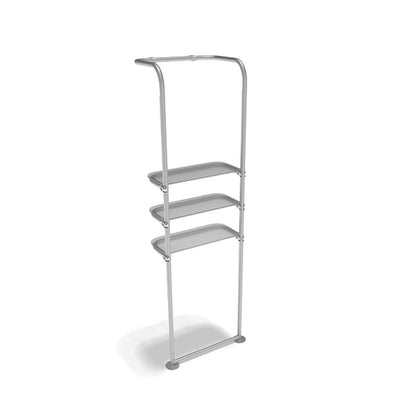 Waveline Waterfall Display Shelving