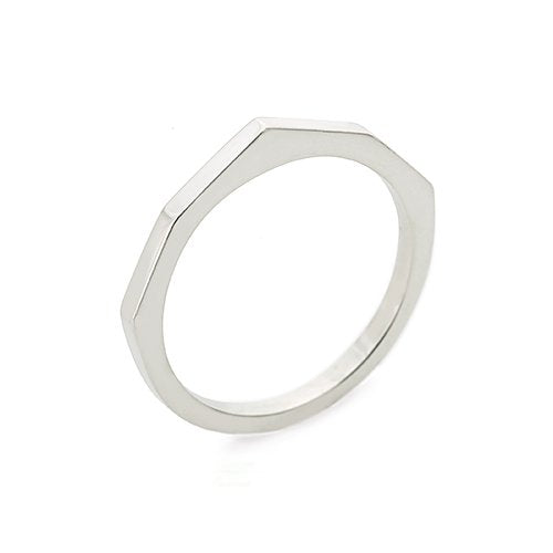 Mountain top ring - Silver
