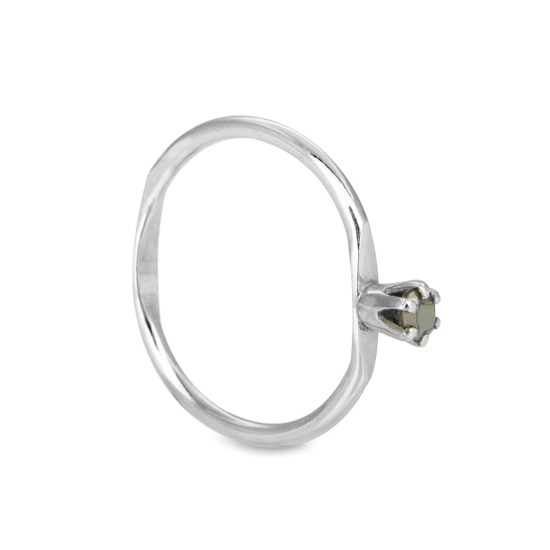 Apple ring small - Pyrit