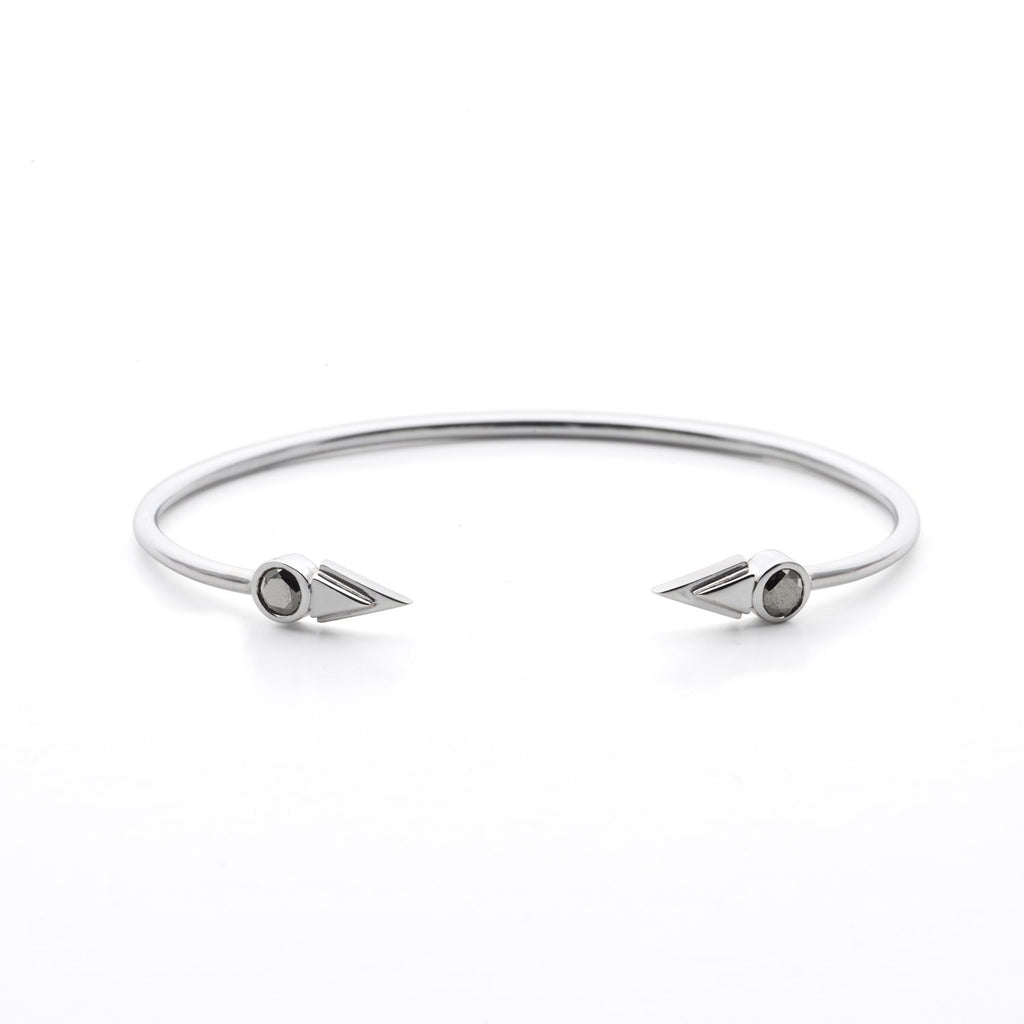 Arrow bangle - Pyrit