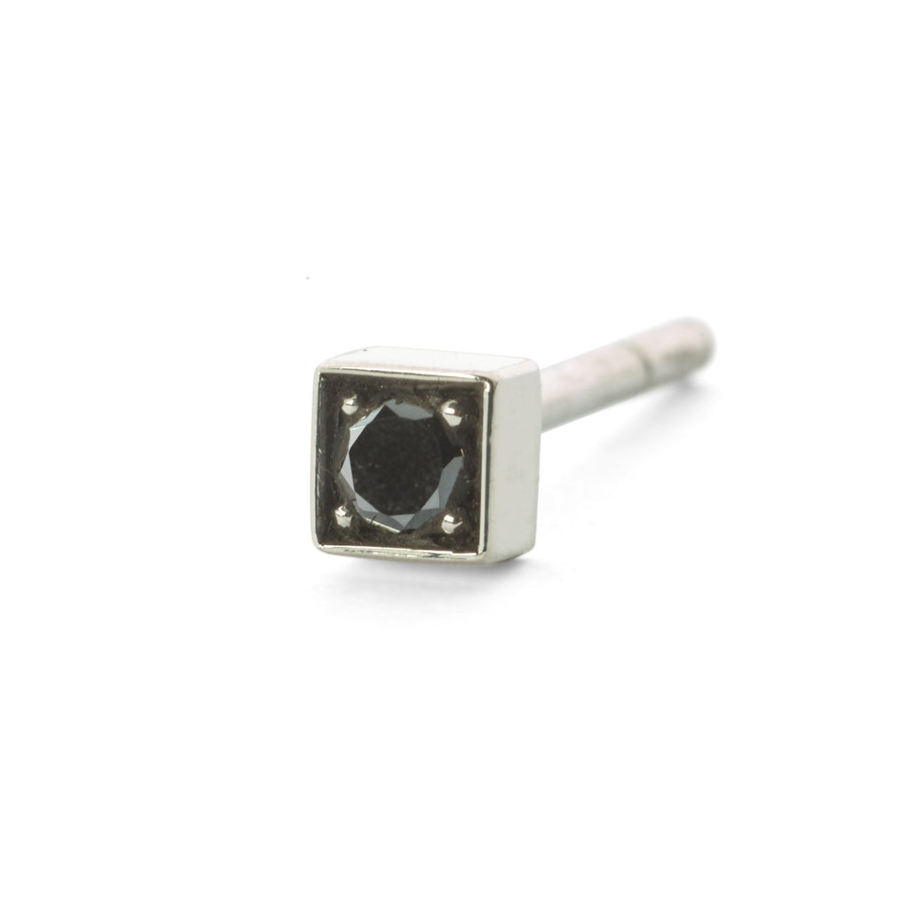 Diamond stud - Svart diamant