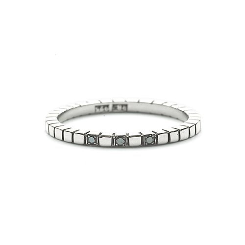 Steady flow ring - Svarta diamanter
