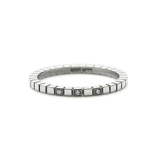 Steady Flow ring - Silvermistdiamant