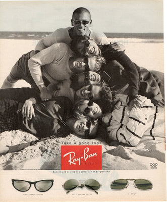 Vintage 1996 Ray Ban Sunglasses Sunglass Hut Ad