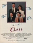 Vintage 1991 Class Movie With Rob Lowe Ad