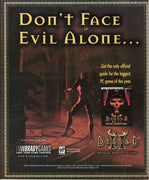 Vintage 2000 Diablo II For PC Official Strategy Guide Ad