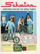 Vintage 1971 Schwinn Bicycle Pea Picker Ad