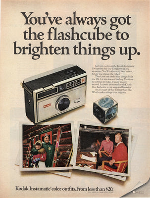 1968 Kodak Instamatic 104 Camera Ad