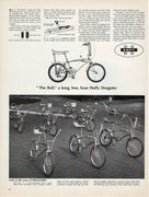 Vintage 1967 The Rail Dragster Bicycle Ad