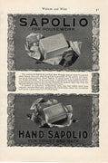 1902 Sapolio Morgans' Sons N.Y. Soap Ad