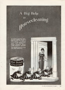 1921 Old Dutch Cleanser Ad