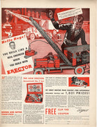 Vintage 1933 Erector Sensational No. 7 Set Toy Ad