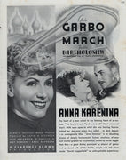 Vintage 1935 Anna Karenina Movie Ad