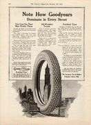 1915 Goodyear Fortified Tires Ad