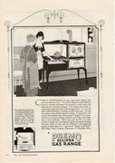 Antique 1921 Premo Eclipse Gas Range Ad