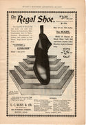 Antique 1899 The Regal Shoe L. C. Bliss & Co Ad