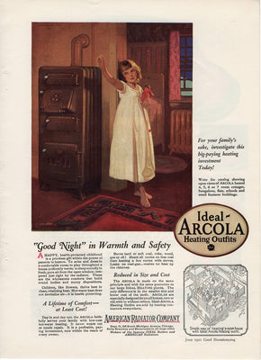 1921 American Radiator Co Arcola Heating Outfit Ad