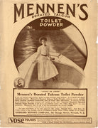 Antique 1904 Mennen's Borated Talcum Toilet Powder Ad