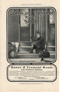 1902 Southern Railway Queen & Crescrent Route Train Ad