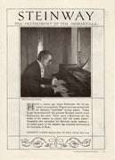 1921 Steinway & Sons Instrument Of Immortals Piano Ad