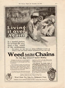 1914 Weed Chain Tire Group Anti Skid Chains Ad
