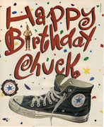 Vintage 1992 Converse All Star Sneakers Happy Birthday Chuck Ad