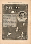 Antique 1899 Mellin's Food For Babies Ad