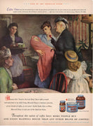 Vintage 1948 Maxwell House Coffee Ad