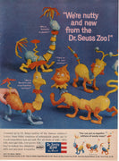 Vintage 1959 Revell Dr Seuss Zoo Toy Ad