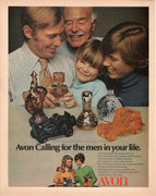 Vintage 1971 Avon Men's Cologne & Aftershave Ad