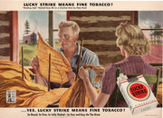 Vintage 1973 Lucky Strike Tobacco Cigarette Ad