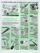 Vintage 1968 Sentry Hardware Store Ad