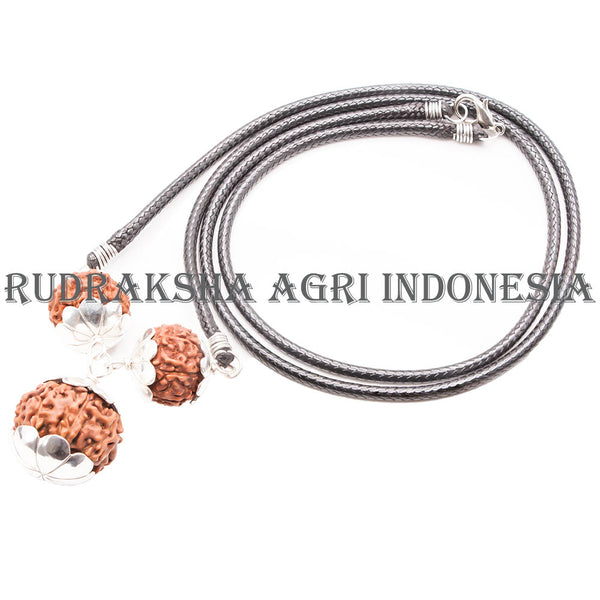 Business Necklace Silver Rudraksha A