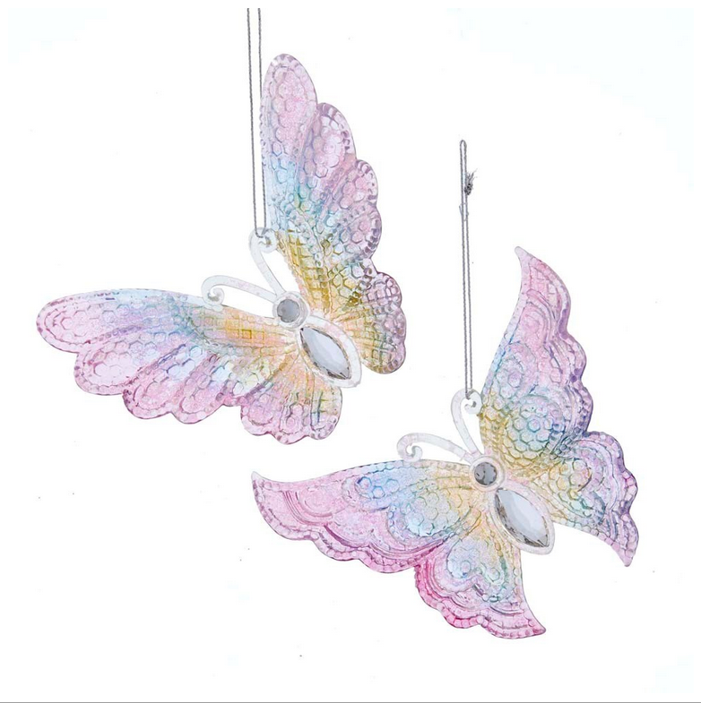 Butterfly Gitter Ornament
