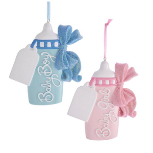 Baby's 1st Ornament Bottle