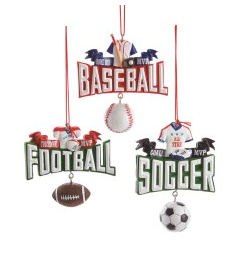Sports Ornament Resin