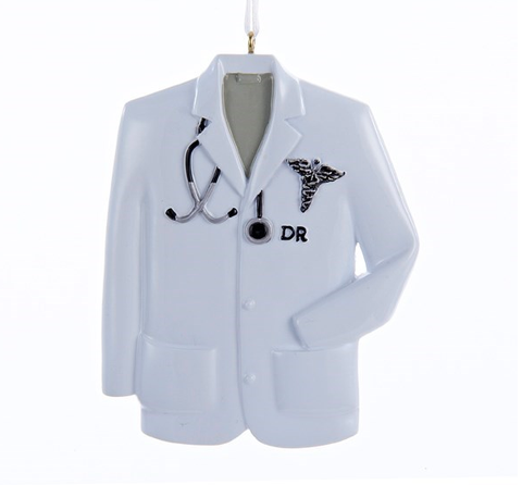 Doctor Coat Ornamnet